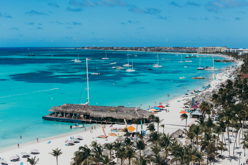 Palm Beach Aruba Great Swimming