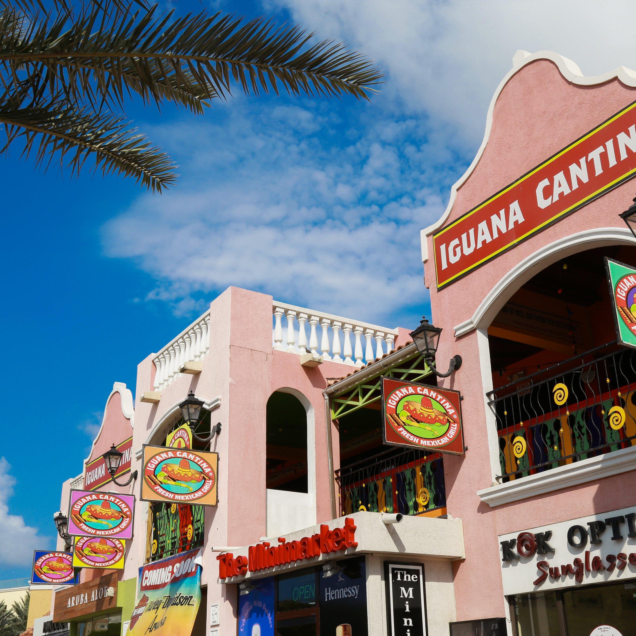 Mexican Restaurant In Palm Beach Aruba Iguana Cantina